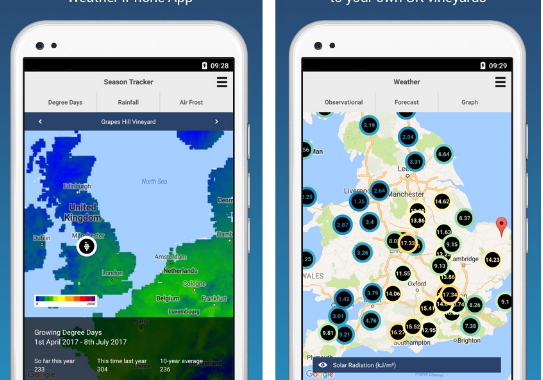 ClimateVine: The essential viticulture weather app for UK vineyards