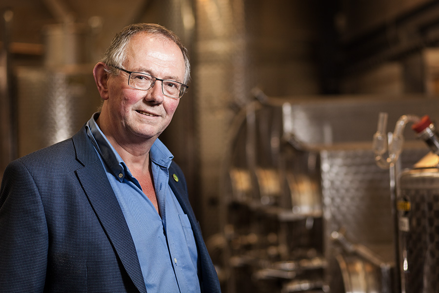 Chris Foss, Chair of the WineGB Sustainability Working Group
