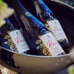 Oastbrook Sparkling Rose bottles