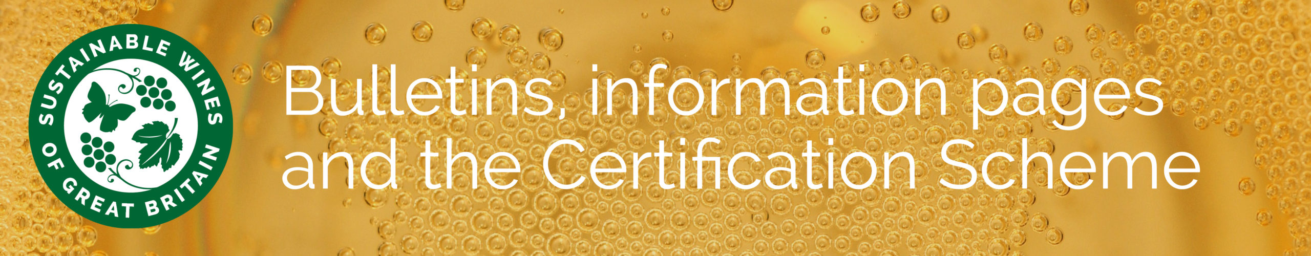 Sustainability Bulletins, information and Certification Mark